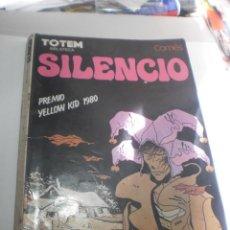 Cómics: TOTEM BLIOTECA SILENCIO DIDIER COMÈS 136 PÁG (CÓMIC ADULTOS ESTADO NORMAL, CON 4 VIÑETAS COLOREADAS). Lote 224601662
