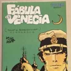 Cómics: CORTO MALTÉS FÁBULA DE VENECIA TOTEM BIBLIOTECA. Lote 226839195