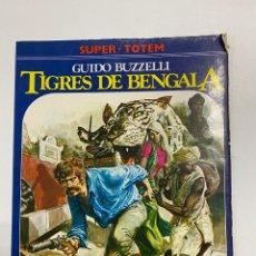 Cómics: TIGRES DE BENGALA.GUIDO BUZZELLI.SUPER-TOTEM. EDITORIAL NUEVA FRONTERA.MADRID,1981. Lote 232178675
