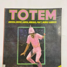 Cómics: TOTEM. Nº 37. BRECCIA - GARCIA - MOEBIUS - PRATT.LA REVISTA DEL NUEVO COMIC.EDITORIAL NUEVA FRONTERA. Lote 232495380