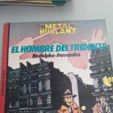 Fumetti: X EL HOMBRE DEL TRIDENTE, DE RODOLPHE Y FERRANDEZ (NEGRA 22). Lote 234864755