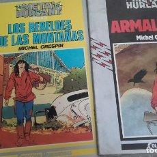 Cómics: X LOTE MICHEL CRESPIN: LOS REBELDES DE LAS MONTAÑAS Y ARMALITE (HUMANOIDES 9 Y 8). Lote 234865700