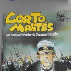 Cómics: X LA CASA DORADA DE SAMARCANDA (CORTO MALTES), DE HUGO PRATT (BIBLIOTECA TOTEM). Lote 236128075