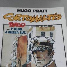 Cómics: X TANGO. Y TODO A MEDIA LUZ (CORTO MALTES), DE HUGO PRATT (TOTEM COMICS). Lote 236128900