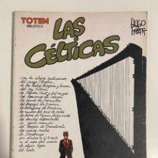 Comics: LAS CÉLTICAS. HUGO PRATT. TOTEM BIBLOTECA. EDITORIAL NUEVA FRONTERA.. Lote 236156110