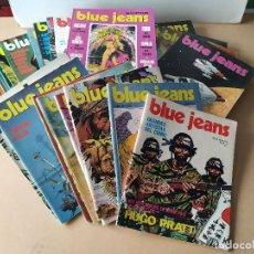 Cómics: BLUE JEANS - DEL Nº 1 AL 28 - COLECCIÓN COMPLETA. Lote 236386755