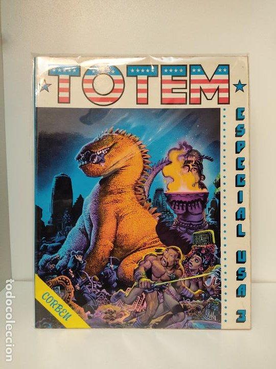 TOTEM EXTRA ESPECIAL USA 3 - NUEVA FRONTERA 1977 - RICHARD CORBEN (Tebeos y Comics - Nueva Frontera)