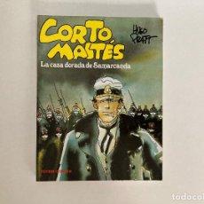 Cómics: CORTO MALTÉS: LA CASA DORADA DE SAMARKANDA (VER FOTOS Y DESCRIPCIÓN). TOTEM.. Lote 237083975