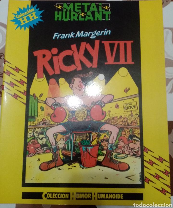 RICKY VII: FRANK MAGERIN: METAL HURTLANT : COLECCION HUMOR HUMANOIDE (Tebeos y Comics - Nueva Frontera)