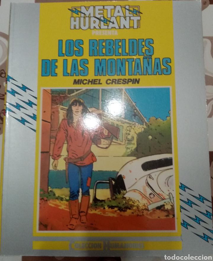 LOS REBELDES DE LAS MONTAÑAS: MICHEL CRESPIN: METAL HURTLANT: COLECCION HUMANOIDES (Tebeos y Comics - Nueva Frontera)