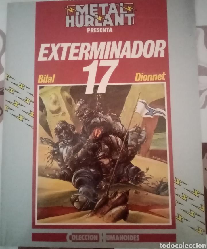 EXTERMINADOR 17: ENKI BILAL: METAL HURTLANT: COLECCION HUMANOIDES (Tebeos y Comics - Nueva Frontera)