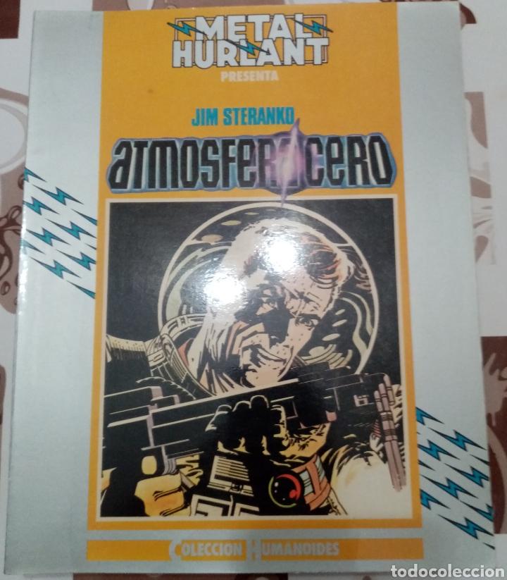 ATMOSFERA CERO: JIM STERANKO: METAL HURTLANT: COLECCION HUMANOIDES (Tebeos y Comics - Nueva Frontera)