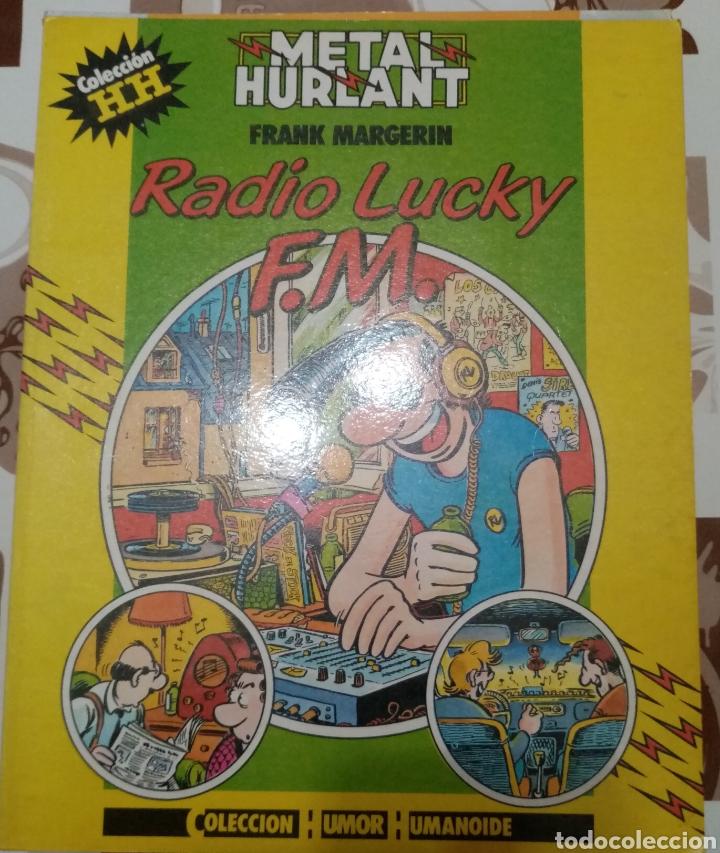 RADIO LUCKY F. M. : FRANK MAGERIN: METAL HURTLANT :COLECCION HUMOR HUMANOIDE (Tebeos y Comics - Nueva Frontera)