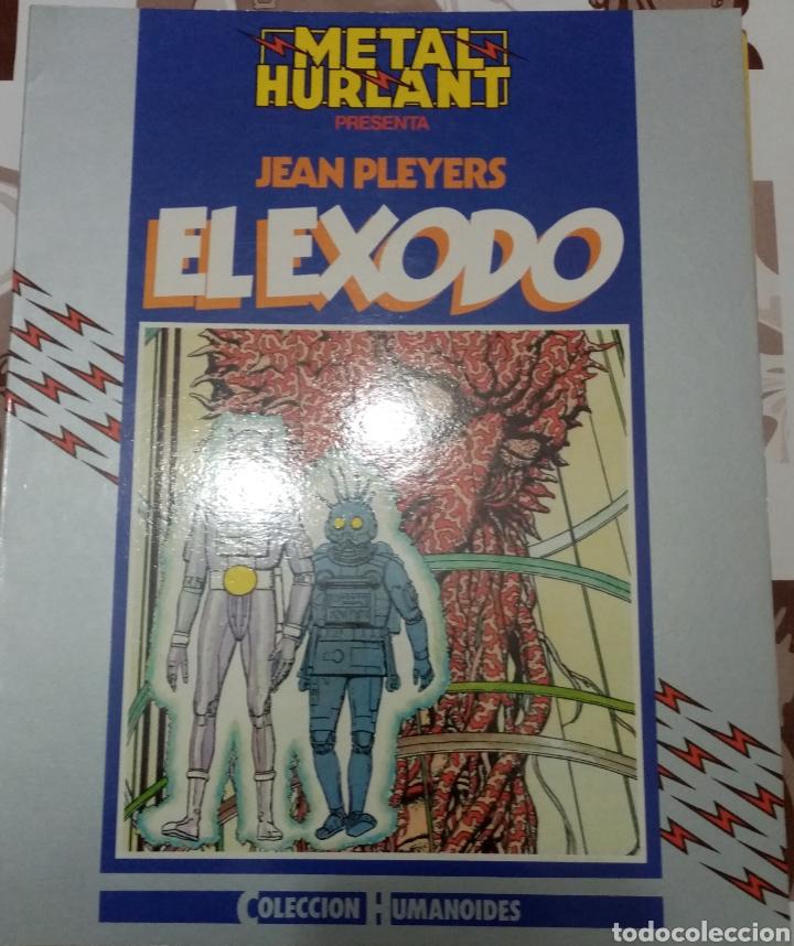 EL EXODO: JEAN PLEYERS: METAL HURTLANT : COLECCION HUMANOIDES (Tebeos y Comics - Nueva Frontera)
