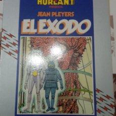 Cómics: EL EXODO: JEAN PLEYERS: METAL HURTLANT : COLECCION HUMANOIDES. Lote 237335480