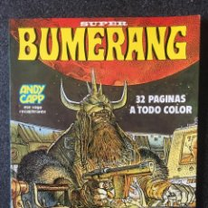 Comics : SUPER BUMERANG - Nº 18 - REVISTA DE CÓMIC - 1ª EDICION - NUEVA FRONTERA - 1979 - ¡COMO NUEVO!. Lote 237674370
