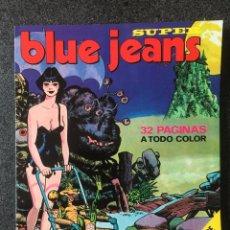 Comics : SUPER BLUE JEANS - Nº 19 - REVISTA DE CÓMIC - 1ª EDICION - NUEVA FRONTERA - 1979 - ¡NUEVO!. Lote 237707140
