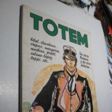 Cómics: TOTEM Nº 21 BILAL, CLAVELOUX,CREPAX, MARGERIN, MOEBIUS, PRATT, SOLANO, TOPPI (BUEN ESTADO). Lote 237895110