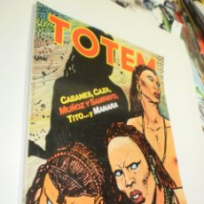 Comics : TOTEM Nº 49 CABANES, CAZA, MUÑOZ SAMPAYO, TITO, MANARA (BUEN ESTADO, SEMINUEVO). Lote 237905170