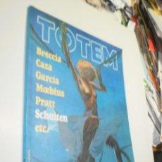Cómics: TOTEM Nº 36 BRECCIA, PRATT, CAZA, GARCÍA, MOEBIUS, SCHUITEN (BUEN ESTADO). Lote 237912105