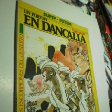 Comics : SUPER TOTEM Nº 24. UN FORTÍN EN DANCALIA. LOS ESCORPIONES DEL DESIERTO. HUGO PRATT. (BUEN ESTADO). Lote 237916705
