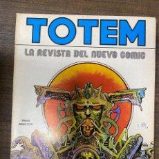 Comics: TOTEM. Nº 3. LA REVISTA DEL NUEVO COMIC. EDITORIAL NUEVA FRONTERA. Lote 239585000