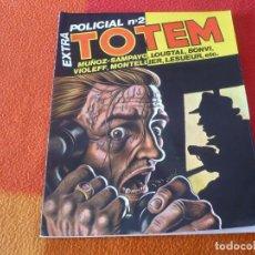 Cómics: TOTEM EXTRA POLICIAL Nº 2 ( MUÑOZ SAMPAYO ) ¡BUEN ESTADO! TOUTAIN NUEVA FRONTERA. Lote 239756555