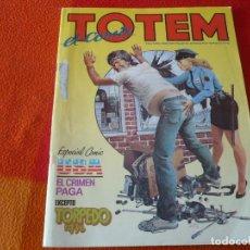 Cómics: TOTEM EL COMIX Nº 19 ESPECIAL COMIC USA TOUTAIN NUEVA FRONTERA. Lote 239757145