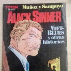 Comics : BIBLIOTECA TOTEM 20: ALACK SINNER VIET-BLUES Y OTRAS HISTORIAS. Lote 239898345
