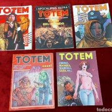 Fumetti: TOTEM COMIC PARA ADULTOS/OESTE/CIENCIA FICCIÓN/AVENTURAS/TERROR/APOCALIPSIS EXTRA/CAZA/WESTERN/. Lote 240338765