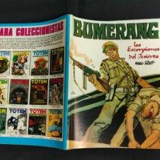 Cómics: BUMERANG - Nº 6 - NUEVA FRONTERA - MUY BUEN ESTADO -. Lote 242238090