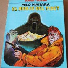Cómics: SUPER TOTEM 7 - MANARA - EL MONJE DEL TIBET - NUEVA FRONTERA 1980 - MUY BUEN ESTADO. Lote 242472620