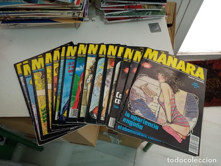 X LOTE COLECCION MANARA OBRAS COMPLETAS 11 EJEMPLARES (NEW COMIC)(VER RELACION EN DESCRIPCION) (Tebeos y Comics - Nueva Frontera)