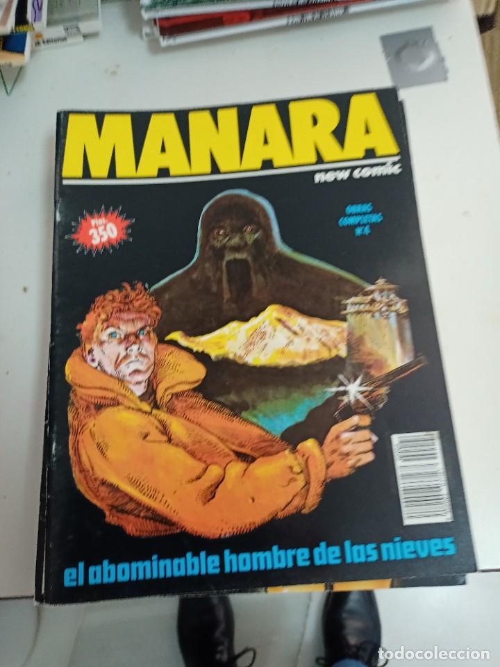 Cómics: X LOTE COLECCION MANARA OBRAS COMPLETAS 11 EJEMPLARES (NEW COMIC)(VER RELACION EN DESCRIPCION) - Foto 2 - 243555275