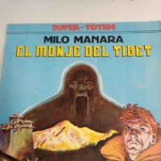 Cómics: X EL MONJE DEL TIBET, DE MANARA (TOTEM COMICS. SUPER TOTEM 7). Lote 243558245