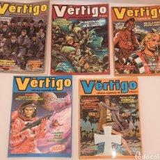 Cómics: COMICS VÉRTIGO EDICIÓN ESPAÑA PILOTE LOTE 5 NUMEROS. Lote 243629545