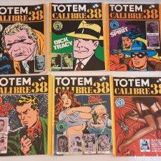 Cómics: COMICS TOTEM CALIBRE 38 NUEVA FRONTERA LOTE 6 COMIC. Lote 243779875