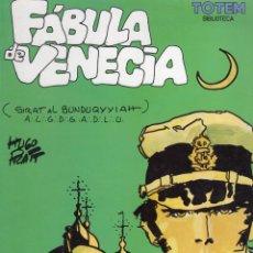 Comics : FABULA DE VENECIA (HUGO PRATT) NUEVA FRONTERA - MUY BUEN ESTADO. Lote 244811020