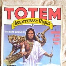 Cómics: TOTEM - AVENTURAS Y VIAJES - NÚMERO 3 - EDITORIAL NUEVA FRONTERA. Lote 245066040