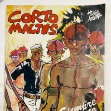 Cómics: CORTO MALTÉS. SIEMPRE UN POCO MAS LEJOS. HUGO PRATT. TOTEM BIBLIOTECA. EDITORIAL NUEVA FRONTERA. Lote 248667515