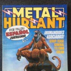 Comics : METAL HURLANT Nº 1 - 1ª EDICIÓN - NUEVA FRONTERA - 1981 - ¡MUY BUEN ESTADO!. Lote 253156510
