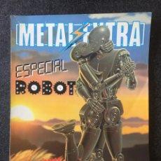 Comics : METAL EXTRA Nº 3 - ESPECIAL ROBOT - 1ª EDICIÓN - EUROCOMIC - 1982 - ¡MUY BUEN ESTADO!. Lote 253301180