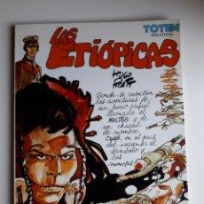 Fumetti: LAS ETIÓPICAS. HUGO PRATT. BIBLIOTECA TOTEM. Lote 253334520