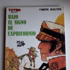 Cómics: BAJO EL SIGNO DE CAPRICORNIO. HUGO PRATT. BIBLIOTECA TOTEM. Lote 253334745