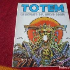 Cómics: TOTEM Nº 3 LA REVISTA DEL NUEVO COMIC ¡BUEN ESTADO! ( DRUILLET MOEBIUS ) NUEVA FRONTERA. Lote 253532845
