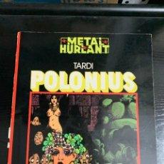 Fumetti: POLONIUS, DE TARDI Y PICARET (GUIÓN NO ACREDITADO). Lote 254008250