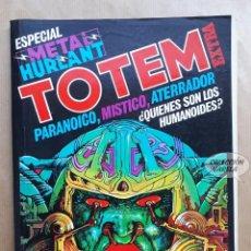 Cómics: TOTEM EXTRA 11 - ESPECIAL METAL HURLANT - NUEVA FRONTERA - TAPAS SUELTAS. Lote 256036795