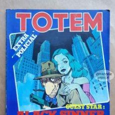 Cómics: TOTEM EXTRA 14 - ESPECIAL POLICIAL - NUEVA FRONTERA. Lote 256037175