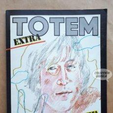Cómics: TOTEM EXTRA 15 - HOMENAJE A JOHN LENNON - NUEVA FRONTERA. Lote 256037410