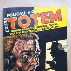 Cómics: TOTEM EXTRA 18 - EXTRA POLICIAL Nº 2 - NUEVA FRONTERA. Lote 256039265